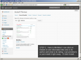 Installing themes in WordPress 2.8, Step 2